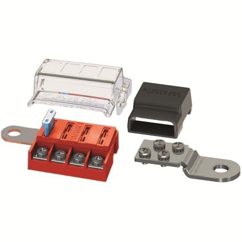 säkringsbox för batteripol