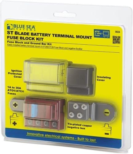 säkringshållare för batteripol