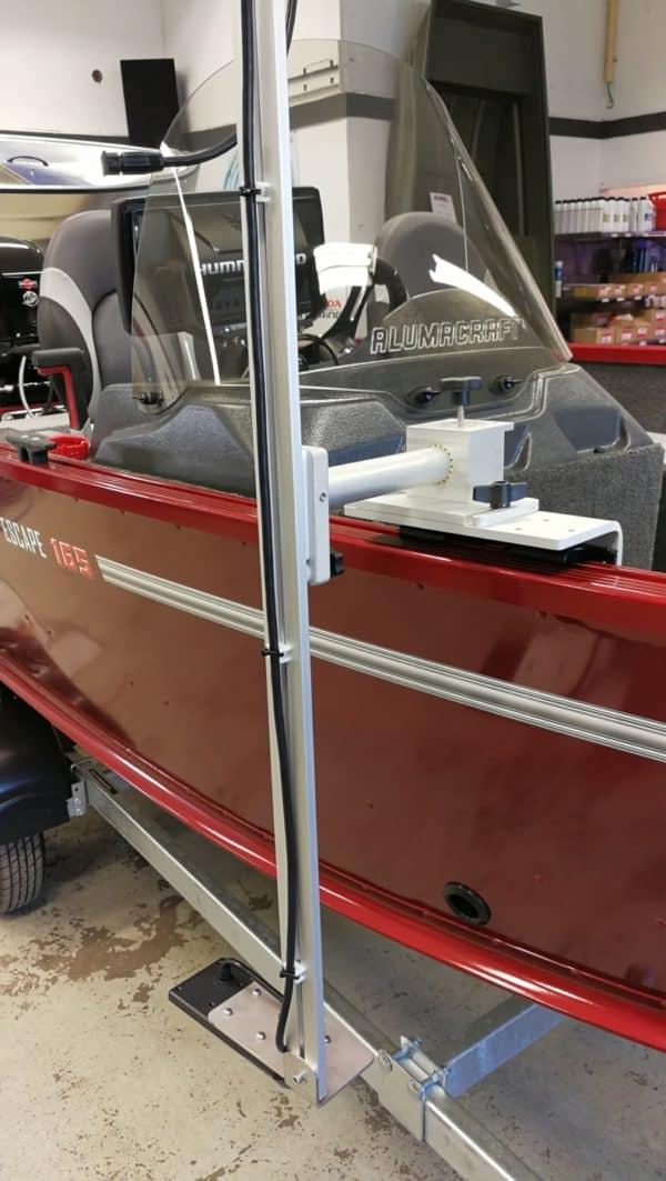 z-bait givarhållare aluma-trac alumacraft