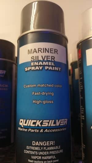 Sprayfärg mariner Silver