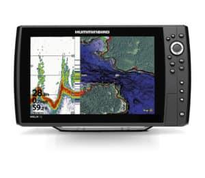 HUMMINBIRD HELIX 12 CHIRP GPS G2N ekolod plotter