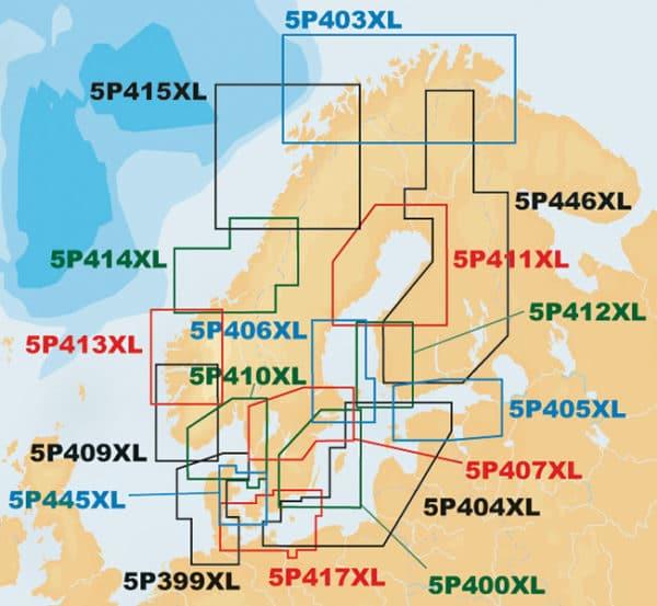 NAVIONICS PLATINUM+ XL sjökort