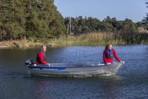 linder fishing 410 boat båt westgear