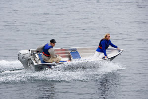 linder sportsman 355 boat båt westgear