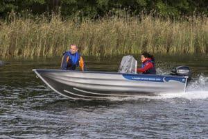 linder sportsman 400 boat båt westgear