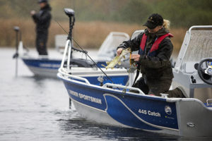 sportsman 445 catch boat båt westgear