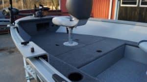 heltäckningsmatta alumacraft båt