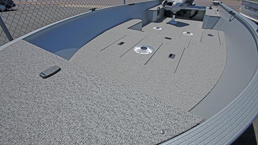 vinylmatta alumcraft båt