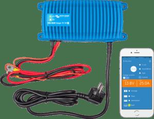 7 batteriladdare med bluetooth