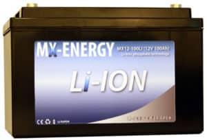 MX power lithiumbatteri 100A
