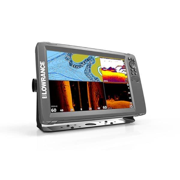 LOWRANCE HOOK2 12 EKOLOD MED TRIPLESHOT-GIVARE & GPS BASKARTA
