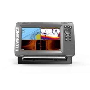 LOWRANCE HOOK2 7 EKOLOD MED TRIPLESHOT-GIVARE & GPS BASKARTA