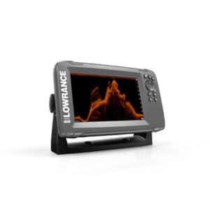LOWRANCE HOOK2-7X EKOLOD MED SPLITSHOT-GIVARE & GPS-PLOTTER