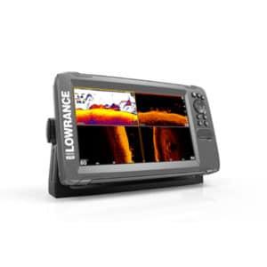 LOWRANCE HOOK2 9 EKOLOD MED TRIPLESHOT-GIVARE & GPS BASKARTA