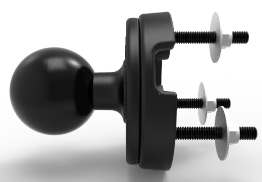 RAM Kabelgenomföring för D-kula RAP-402