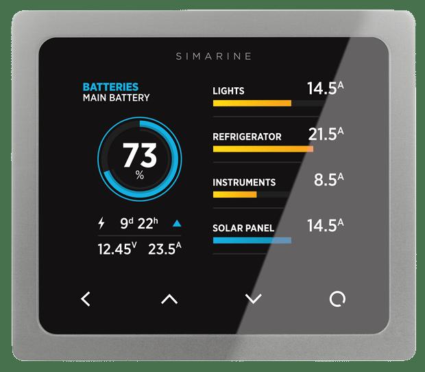 Rv Battery Monitoring Display : Simarine pico batteriövervakning svart köp allt inom