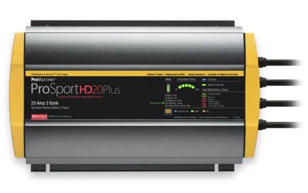 Prosport HD 3 bank laddare