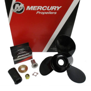 77340A45 Mercury Black Max Propeller