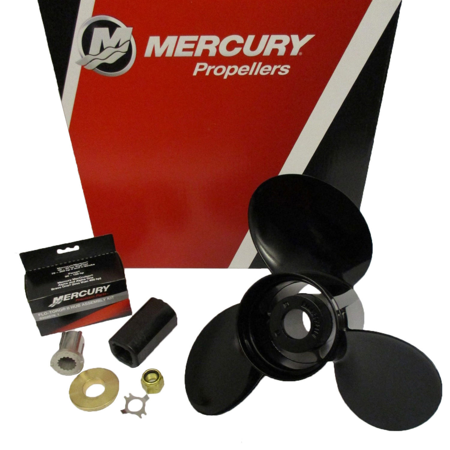 854360A45 Mercury Black Max propeller