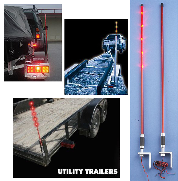 LED Trailer Guide Lights