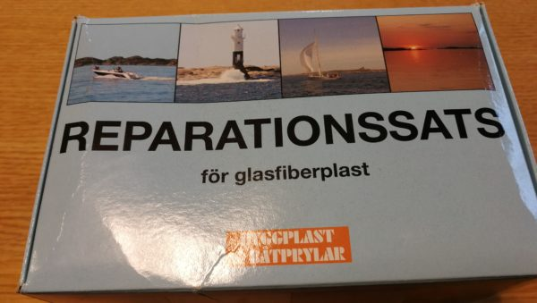 reparationssats glasfiber