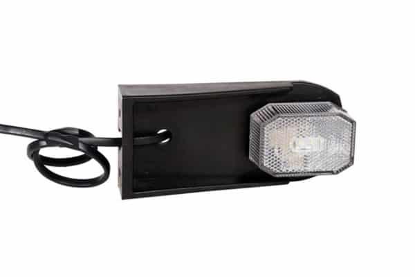 306206 LED belysning vit med fäste