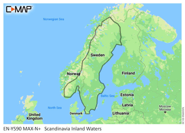 SCANDINAVIA INLAND WATERS-MAX-N+ Y590