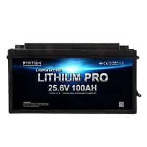 Meritsun lithiumbatteri